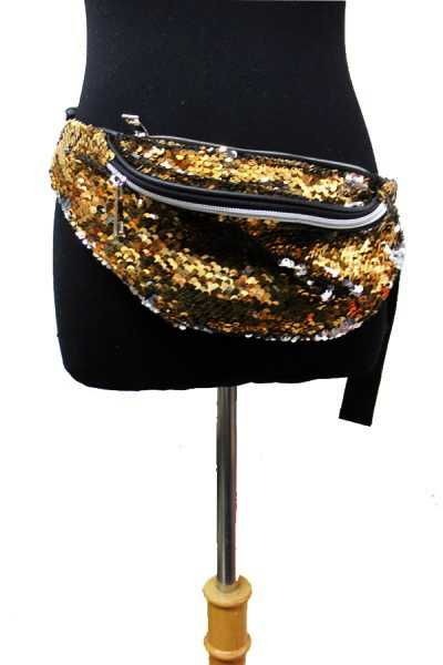Charmed Color Reversible Sequins Fanny Pack