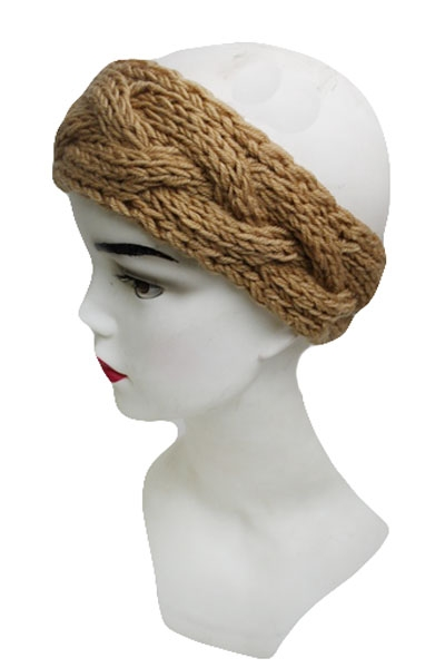 Wide Twist Braid Basic Wear Softness Winter Headbands
