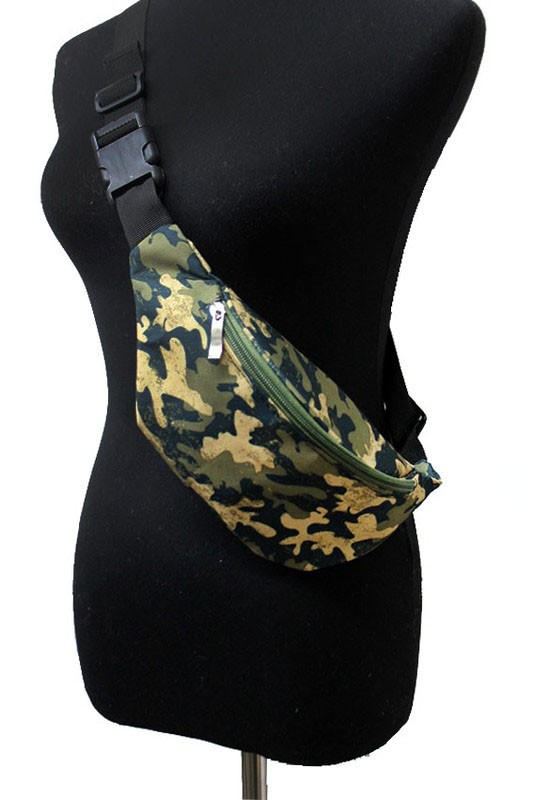 Military,Geometric,Galaxy Pattern Fanny Pack Rave Festival