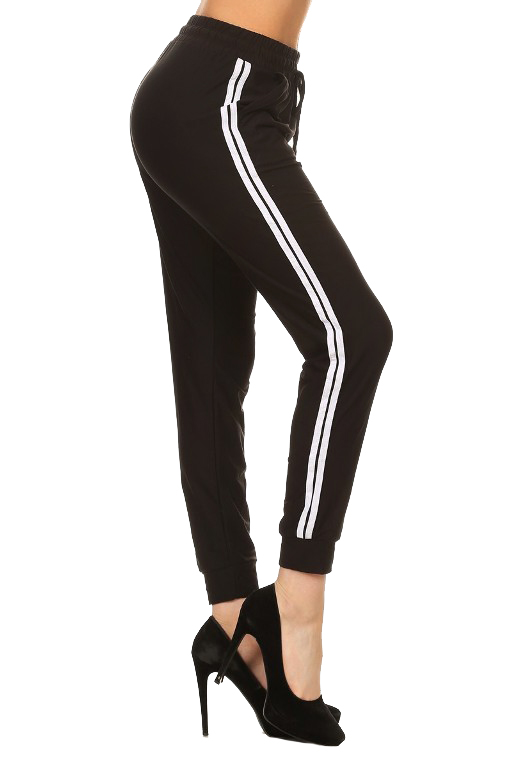 Double Side Striped Joggers