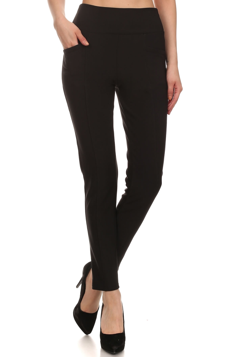 Two Sided Pocketed Casual High rise Legging Pants