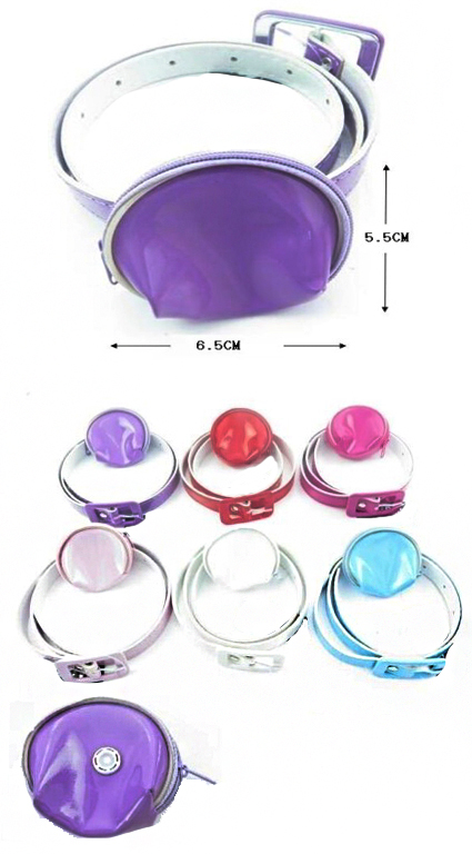 Mini Dome Pouch Clip On Waist Belt Bag