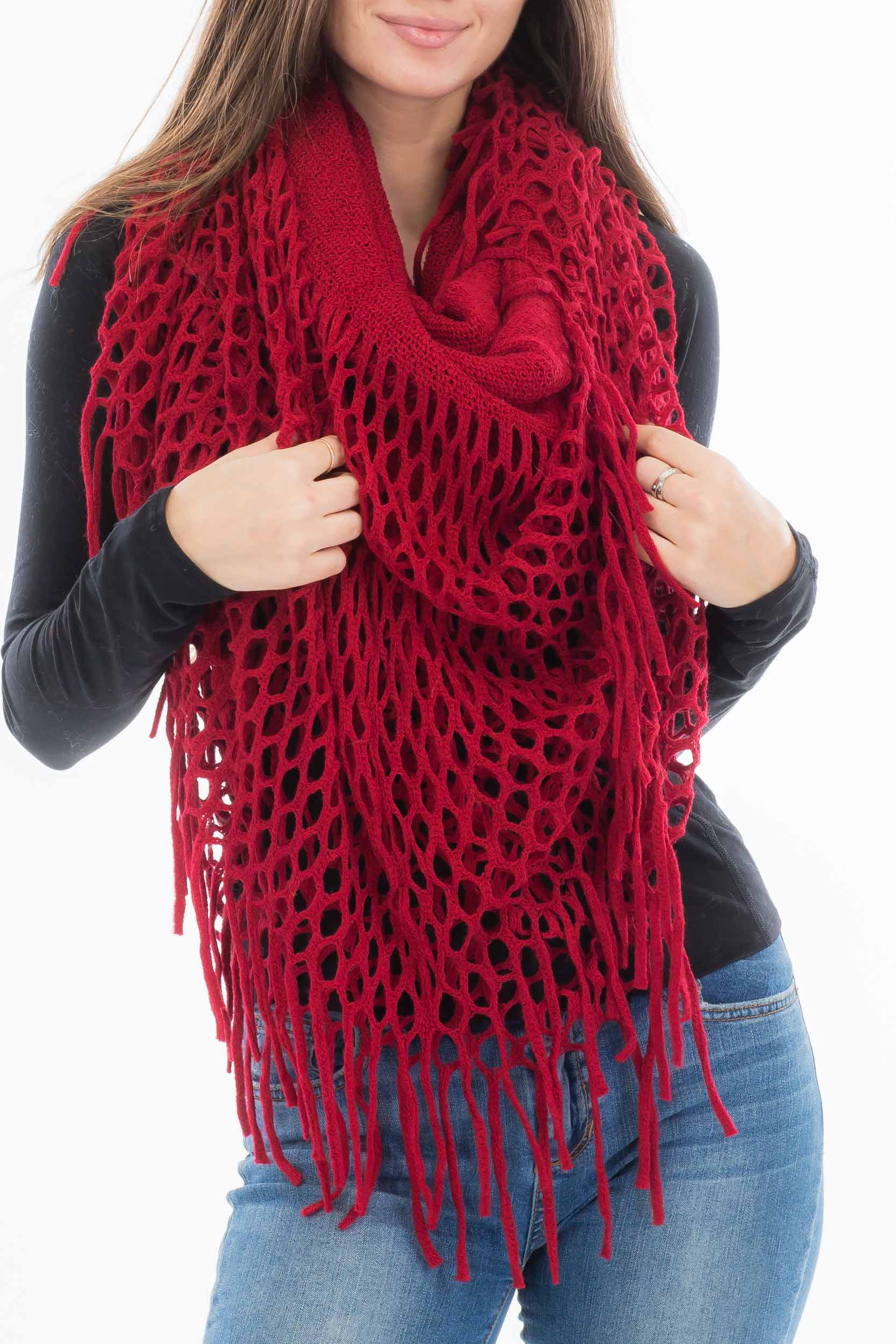 Over sized Tube Oblong Magic Infinity Scarves