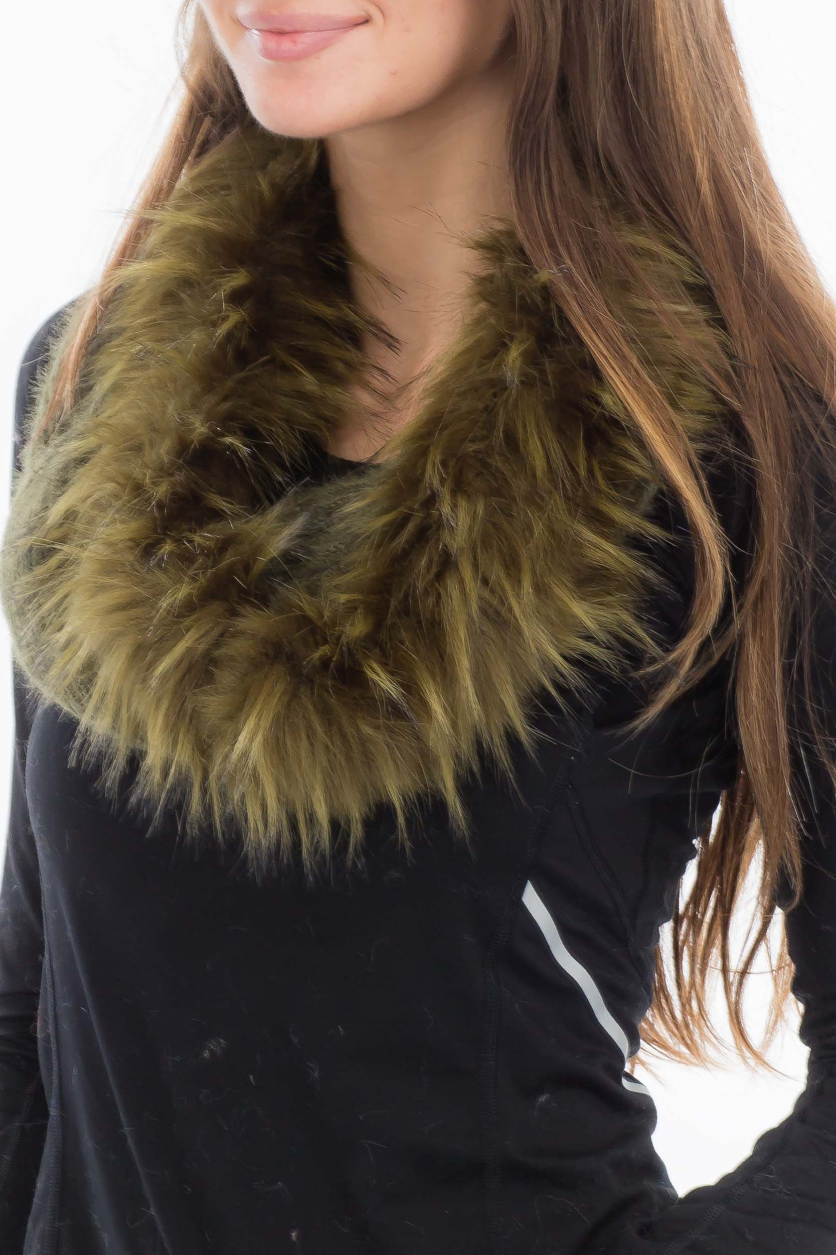 Angora Feel Super Soft Shoulder Cover Design with Faux Fur Trim Hooded and Neck Warm Design  Shawls