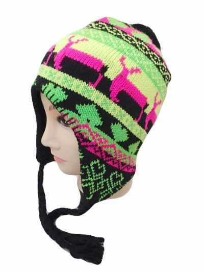 New Winter Item Beanie With Little Reindeer Design