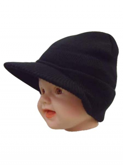 Baby Capped Beanie