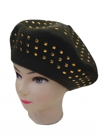 Fashion Stud beret