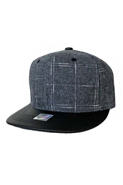 Undefined Lined Pattern Snap Back