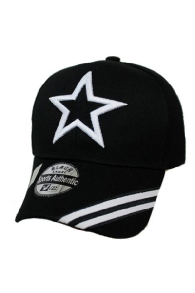Star Baseball cap Design