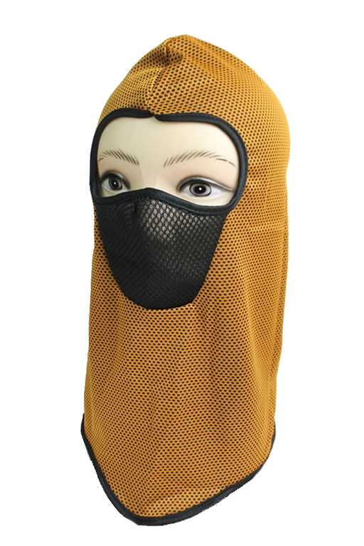 color Meshed solid Breathable Face Neck Outdoor Masks