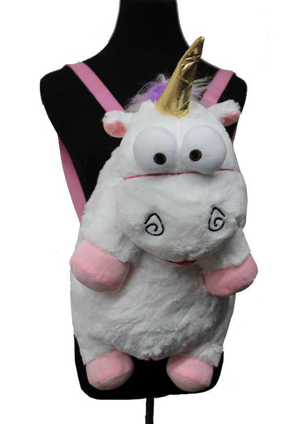 Comical Unicorn Plush Stuffed Animal Backpack