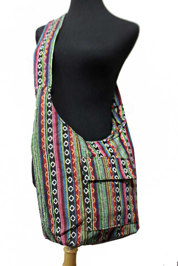 Petite Navajo Boho Printed Big Cross Body Bag
