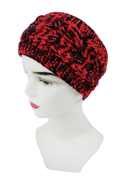 Mix colorful Cable pattern Knitted Head Band