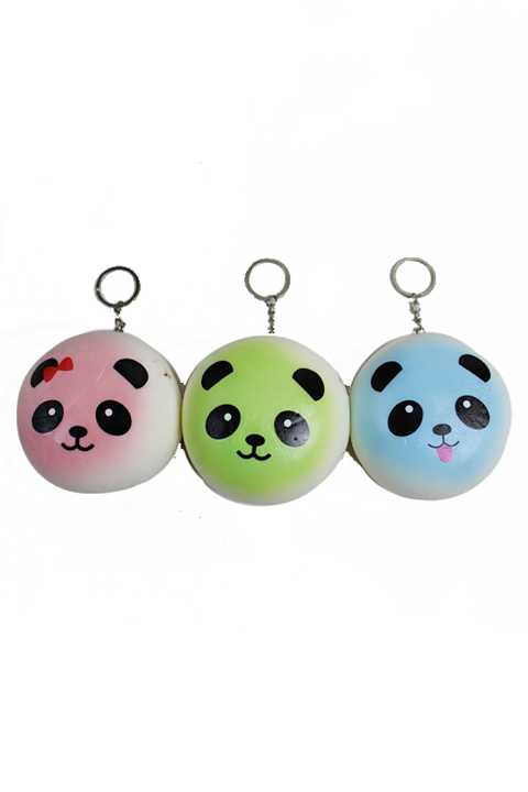 Mini Panda Squishy Animal Toy Slow Rising Squishy Scented Kay Chain Toy