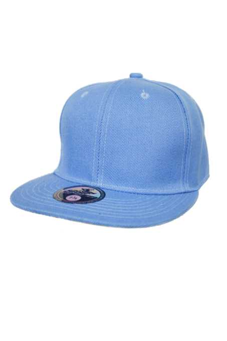 Plain Fitted Solid Flat Bill Visor Blank Color Basic Sport Cap