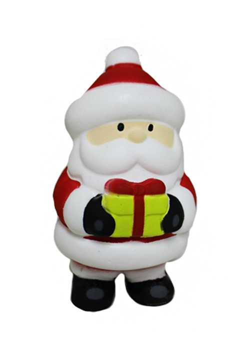 Novelty Santa Claus Slow Rising Squishy Scented Toy