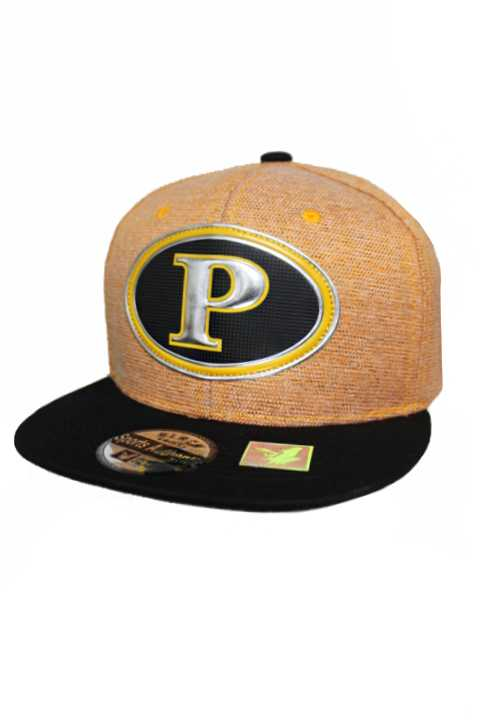 Pittsburgh Chrome Patch With Under Bill Writing Street Wear Snap Back
