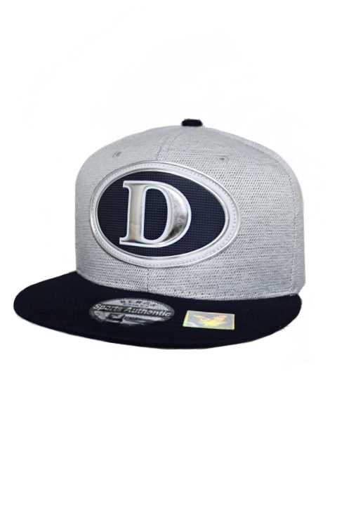Dallas Silver Chrome Patch With Under Bill Writing Street Wear Snap Back