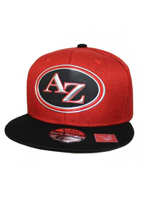 Arizona Silver Chrome Patch With Under Bill Writing Street Wear Snap Back