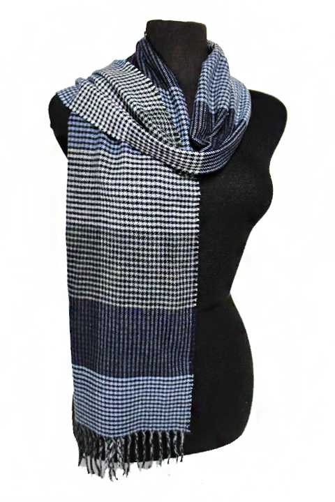 Plaid Pattern Unisex Cashmere Feel  Soft Scarf
