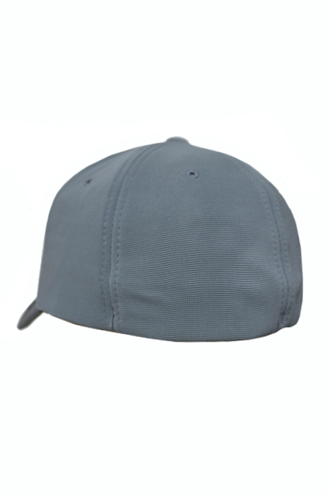 66076966655 Plain Polyester Twill Baseball Cap Hat with Flex fit elastic band