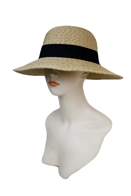Bucket Style Women Sunhat Styled With Band For Contrast