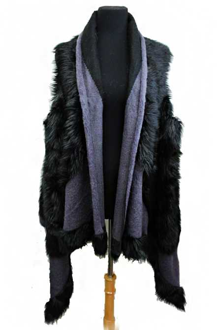 Comfy And Cozy Faux Fur Vest