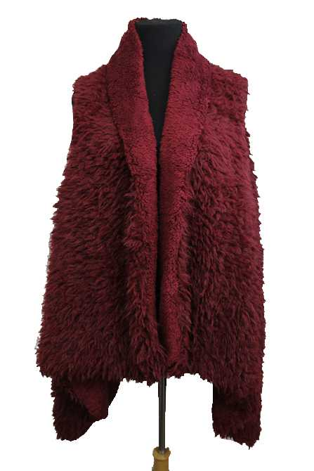 irresistible warmth luna furred vest