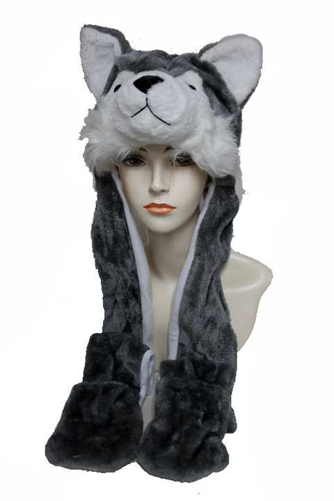 Animal  Long Design Hat