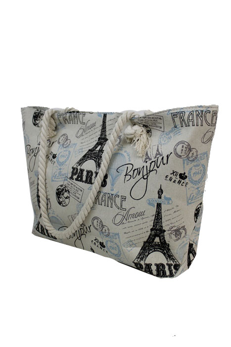 European Famous tourist attraction Design Tote Fashion Bag