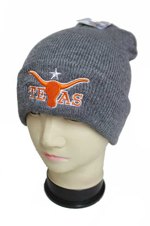 Texas Longhorn Icon Cuffed Fashion Beanies