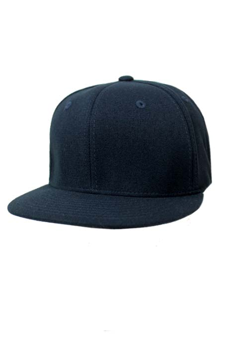 Flex Fitted Flat Visor Hat
