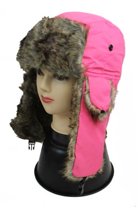 Trooper Out door Hat Women Color Sorted