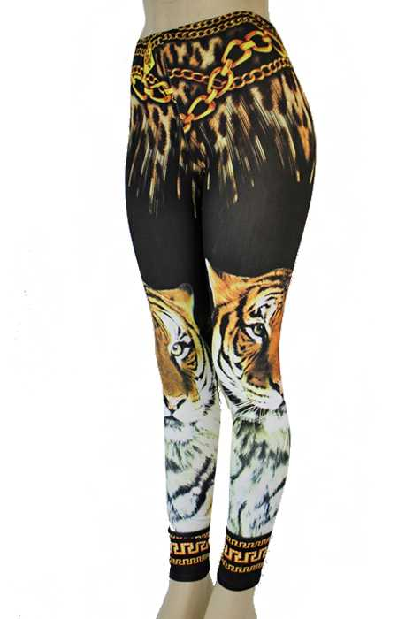 Animal Exotic Printed Fashion Breathable Leggings