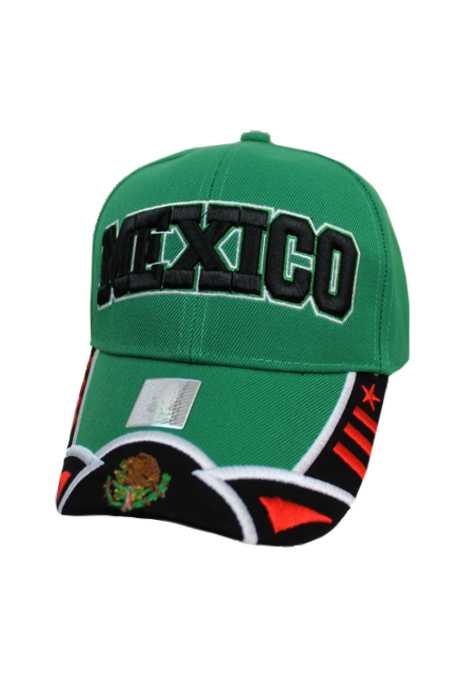 Mexico Design Baseball Style Cap