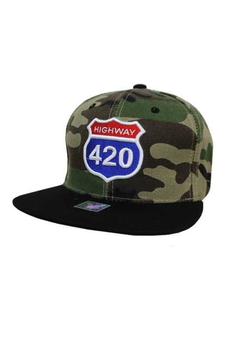 420 Weed Marijuana Rasta Snap back Hat Cap