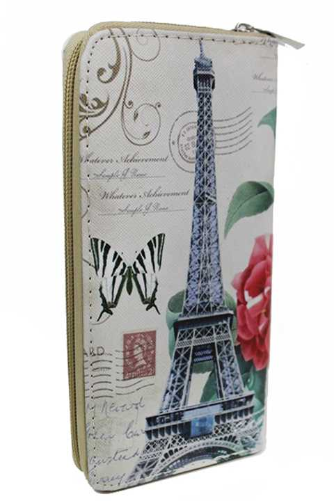 Vintage Paris Imagery Fashion Wallets