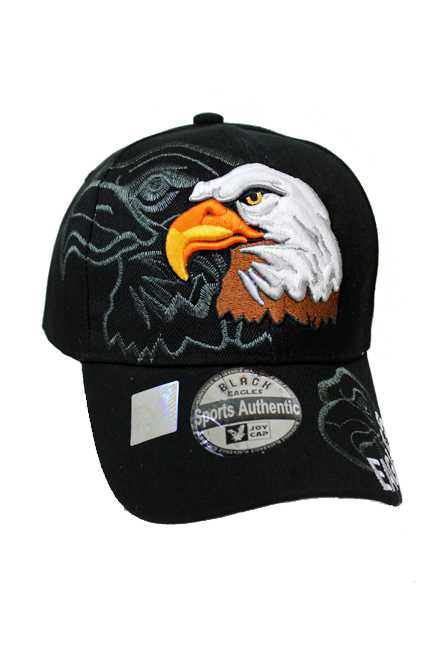 Prideful Eagle Embroidered Baseball Cap