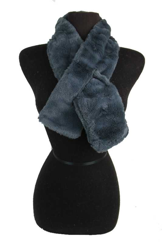 Brushed Velvet Feel Extra Soft Cowl Neck Styled Scarves