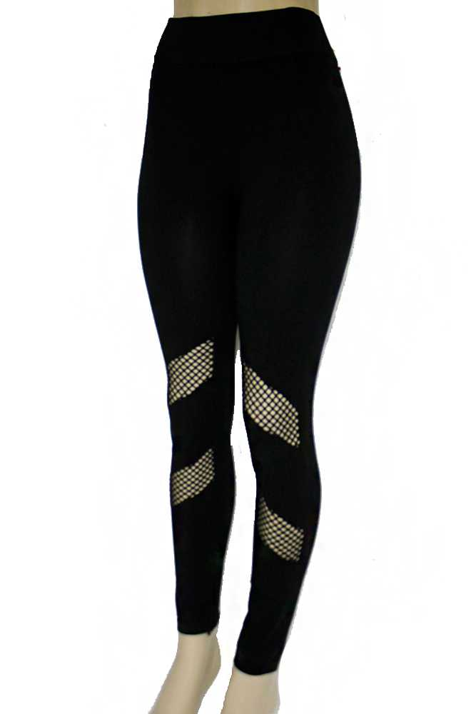 Double Fish Net Mesh Fashion Wear Leggings