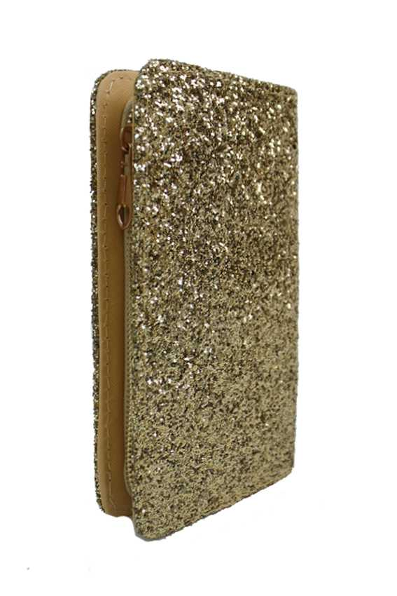 Sparkle Glitter Glam Zipper Wallets