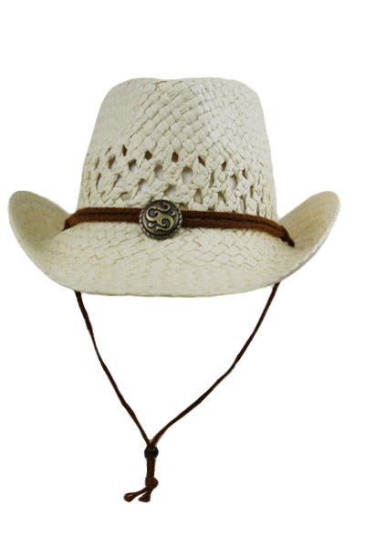 Kids Junior Cow Boy Hats with Metallic Gem