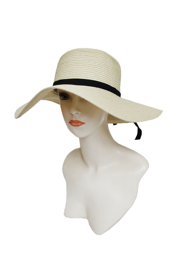 Sturdy And Chic Basic Floppy  Sun Hat
