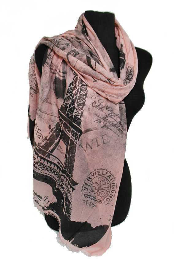 Scenic Printed Oblong Scarves