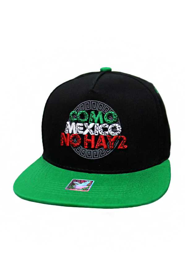 Como Mexico No Hay 2 (Dos) Embroidered Two Tone Cotton Snap Back