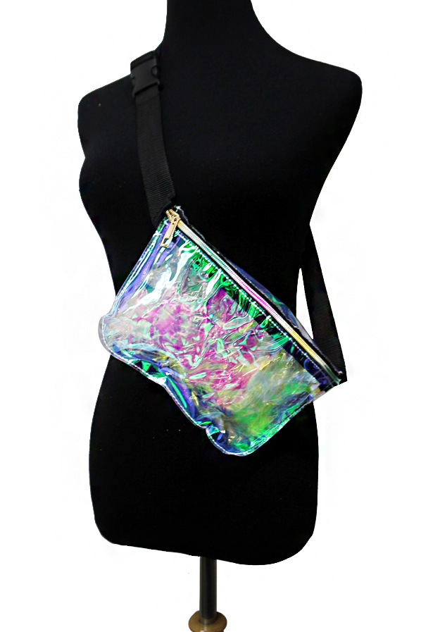 Iridescent Clear Fashion Fanny Pack