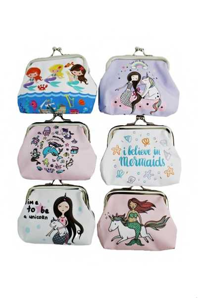 Little Mermaid Collection Coin Purse