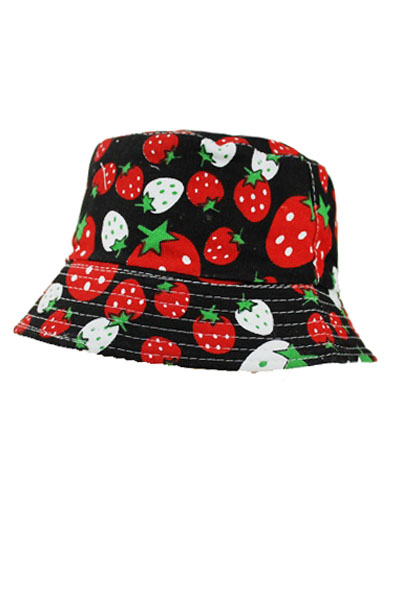 Fruit Design kids and junior Bucket Style Hat