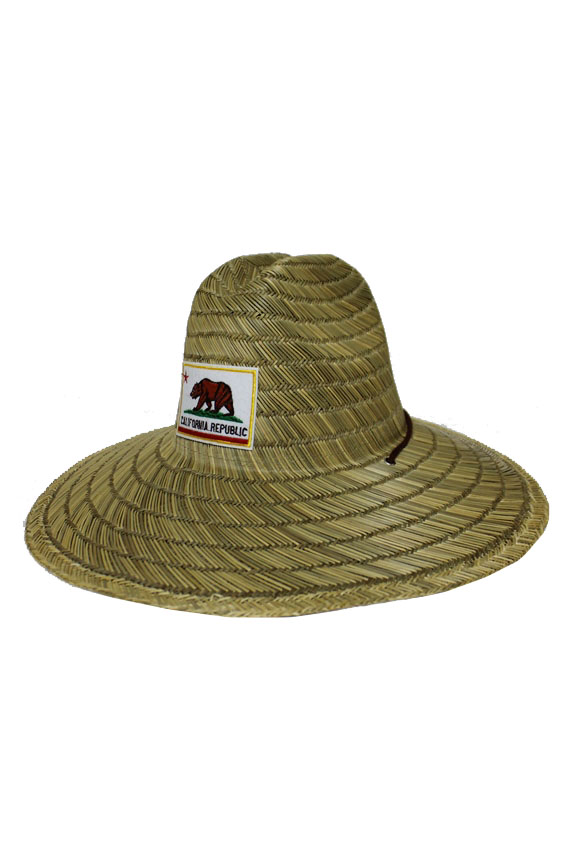 California Republic Patch Lifeguard Outdoor Summer Hat