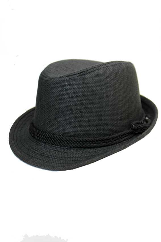 Authentic Roped Straw Basic Wear Fedora